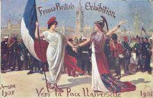 Плакат союзников 1910