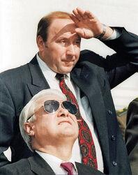 Ельцин и Коржаков