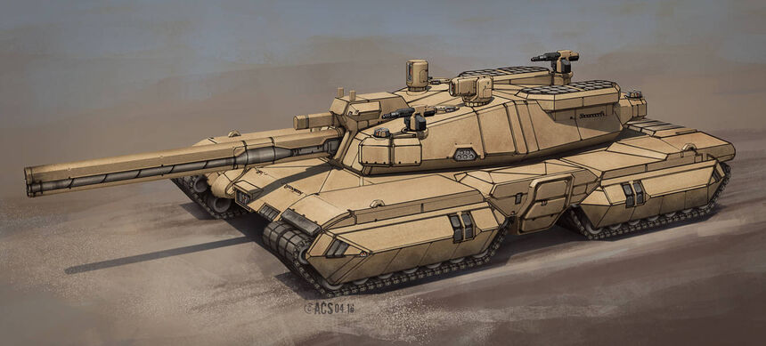 Commission behemoth tank by shimmering sword dan4pzd-pre
