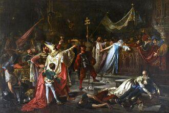 Del saqueo de Roma, de Francisco Javier Amérigo (Museo del Prado)