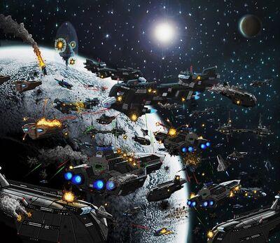 Space Battle by VilleNummisalo 1