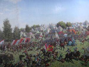 Braun, Schlacht bei Murten