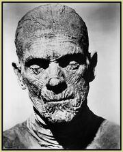 Борис Карлофф в образе мумии
