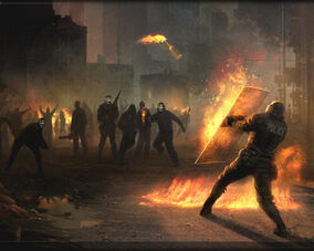 Восстание в Лондоне