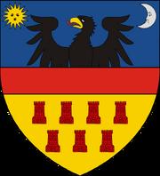 Coat of arms of Kingdom of Karpatia svg