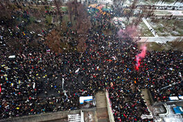 Протесты Москва олдскул