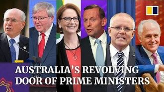 Australia's revolving door seven prime ministers since 2007 - soon to be eight?