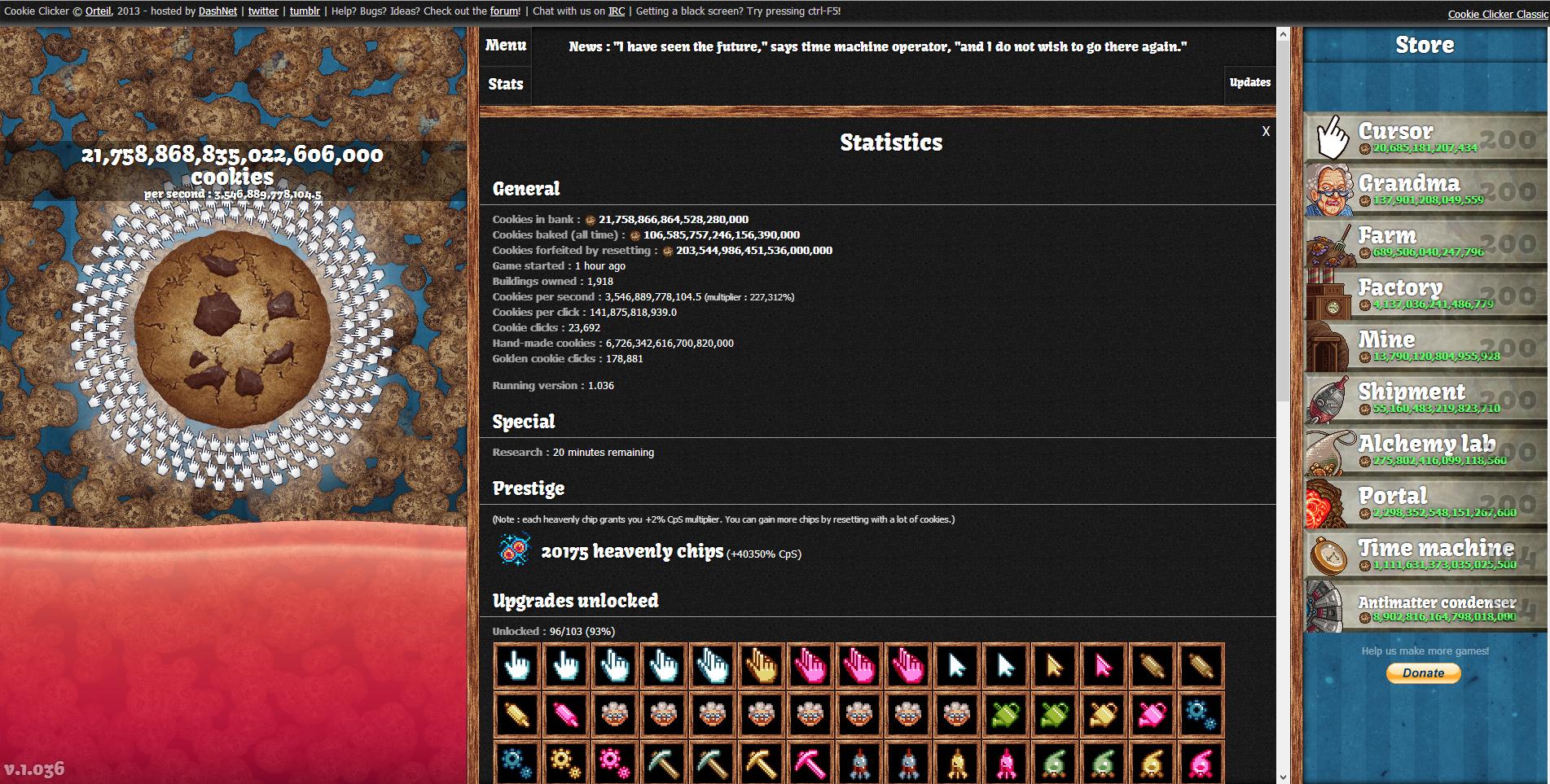 1 0 Update | Cookie Clicker Wiki | FANDOM powered by Wikia