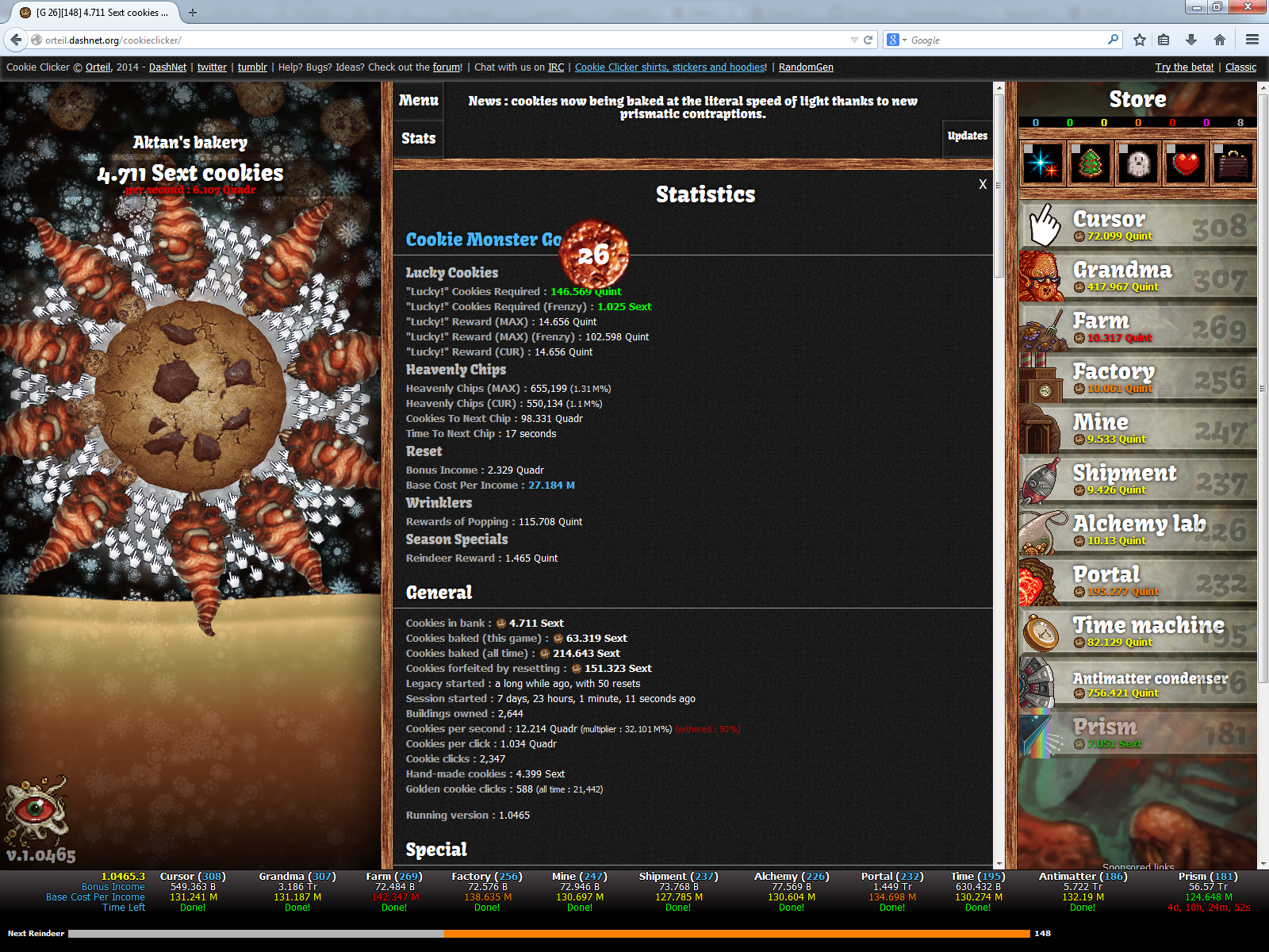 Cookie Monster (JavaScript Add-on) | Cookie Clicker Wiki