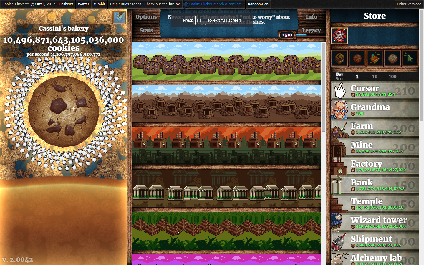 Cps highscores | Cookie Clicker Wiki | FANDOM powered by Wikia