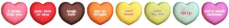 Шоколадные сердца