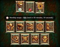 Pantheon interface