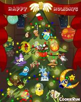Happy Holidays from Cookie Run