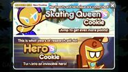 Skating Queen and Hero Mail