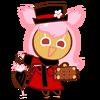 Cherry Blossom Cookie Halloween