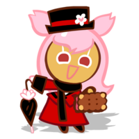 Cherry Blossom Cookie Halloween