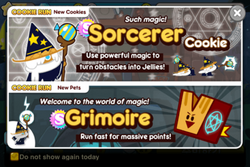 New cookie