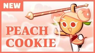 Peach Cookie is here!
