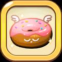 Dreaming Strawberry Choco Donut