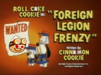 """Roll Cake in """"Foreign Legion Frenzy"""" - By Cinnamon Cookie"""