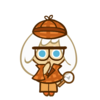 Cream Puff Cookie Halloween