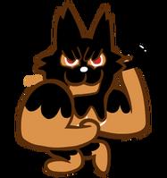 Muscle Cookie Halloween