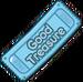 Good Treasure Chest Ticket