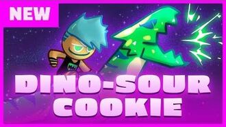 DINO-SOUR COOKIE IS HERE!
