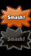 Orange Cookie smash button