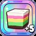 Bouncy Rainbow Rice Cake+5