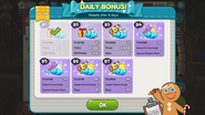 Daily Bonus new