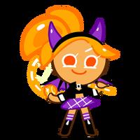 Orange Cookie Halloween