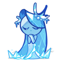 Sea Fairy Cookie frozen