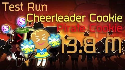 Line Cookie Run Cheerleader+Pirate 13.8m