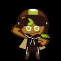 Kiwi Biker Cookie