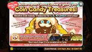 Coin Candy Treasure Event