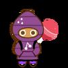 Strawberry Cookie Halloween
