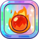 Fire Spirit Cookie's Flame Ball