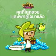 Herb Pot line newsletter thai