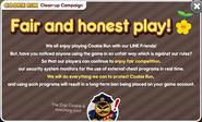 Fair and honest play