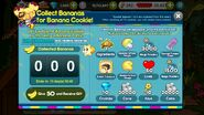 Collect Bananas Event Page