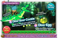 Dino-Sour Cookie newsletter