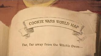 Cookie Wars World Map