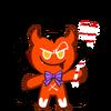 Devil Cookie Halloween