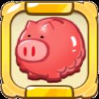 Full Stomach Piggy Bank