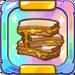 Triple Peanut Butter Sandwich