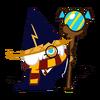 Wizard Cookie Halloween