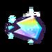 Glistening Rainbow Shard