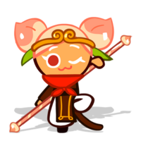 Peach Cookie Halloween