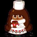 코코아맛 쿠키